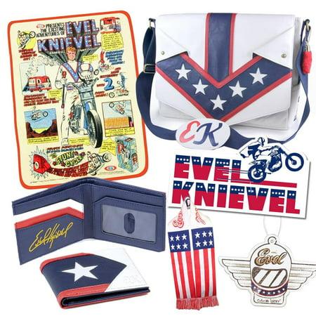 Bundles Bags - Evel Knievel Ultimate Bundle - Bags/ Blanket/ Scarf/ Wallet/ More