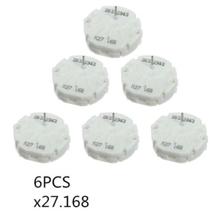 6pcs X27.168 Stepper Motor Gauge Instrument Cars Cluster For GM Chevy Buick GMC Pontiac (Best Gauges To Have In Your Car)