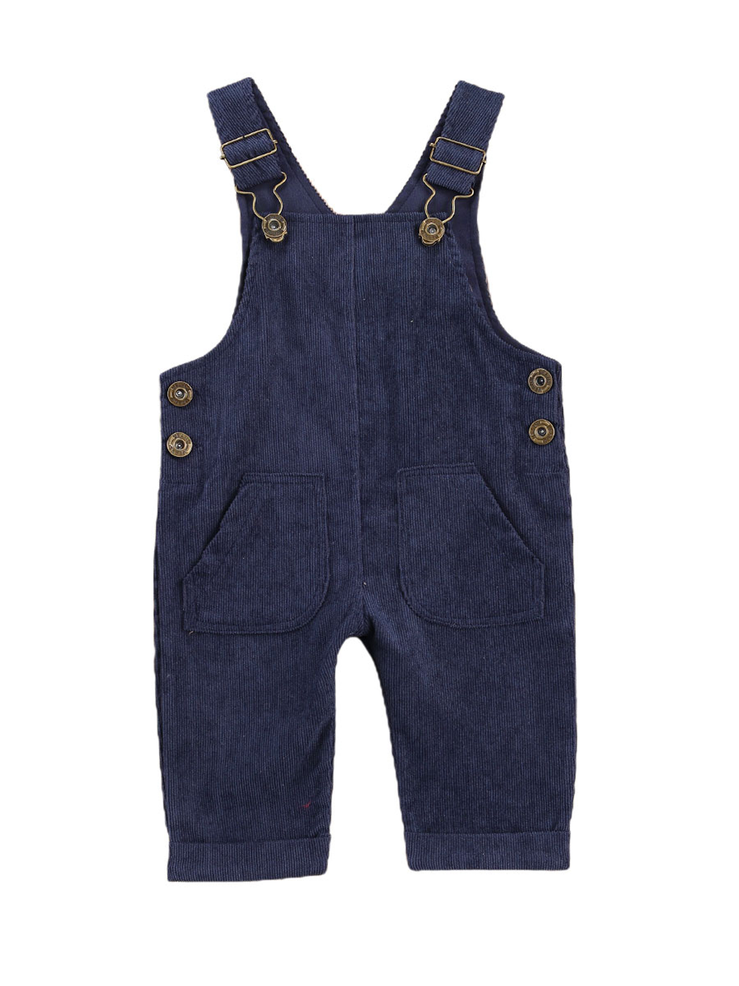 Baby Girl Boy Corduroy Bib Suspender Overall Pants Solid Strap Trousers Jumpsuit One Piece Romper Spring Fall Clothes