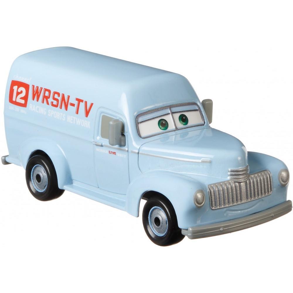 Disney Pixar Cars Rsn Tv Truck Die Cast Character Vehicle