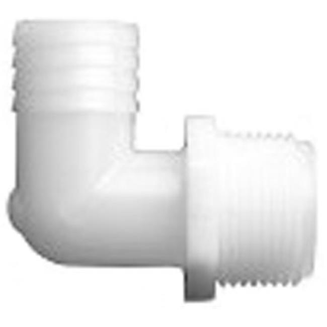Danco 52698B 0.75 in. MIP x 1 in. Nylon Elbow - Pack of 3 - image 1 de 1