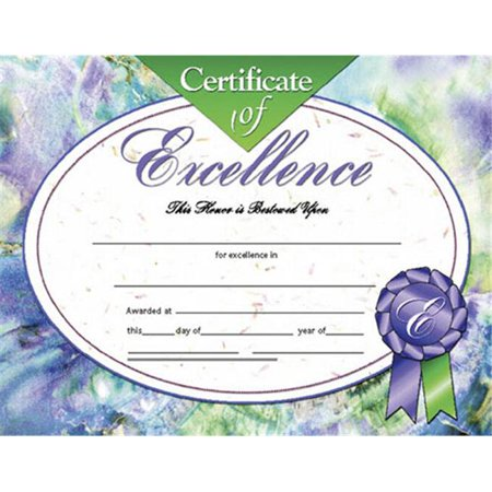 Hayes School Publishing H-Va621 Certificates Of Excellence-36/Pk 8-1/2 X 11 Inkjet/Laser Hayes Inkjet Paper