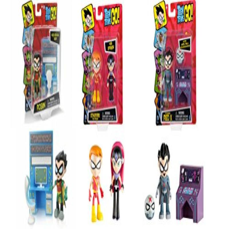 Teen Titans Go 2.75 Figures Bundle Set: Starfire with Spe...