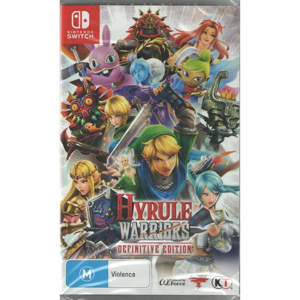 Hyrule Warriors Definitive Edition Nintendo Switch Walmart Com Walmart Com