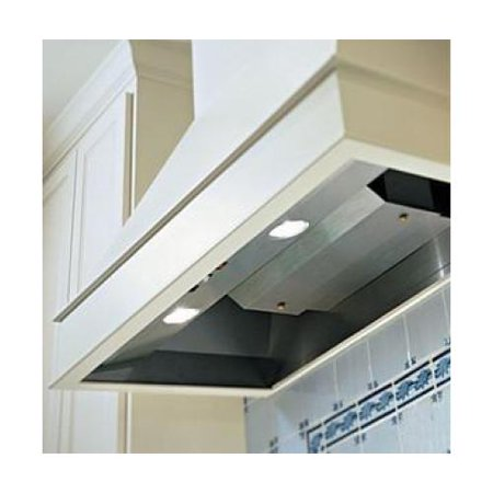 Vent a hood bh346sld ss 48 decorative wall hood liner with dual level halogen lighting - Decorative wall vent ...