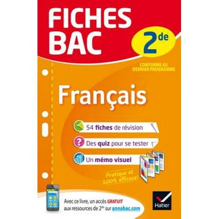 Fiches Bac Francais 2de Ebook