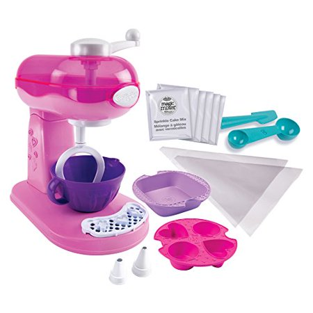 Cool Baker - Magic Mixer Maker (Pink) - With Mixing Bowl and Dessert