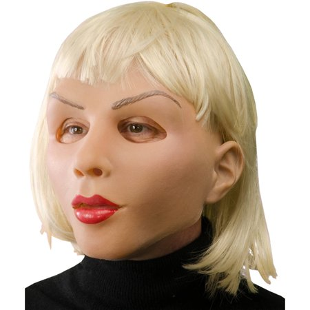 Blonde Brunette Halloween Costumes (Blonde Beautiful Mask Adult Halloween)