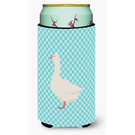 Carolines Treasures BB8072TBC Roman Goose Blue Check Tall Boy Beverage Insulator Hugger - image 1 of 1