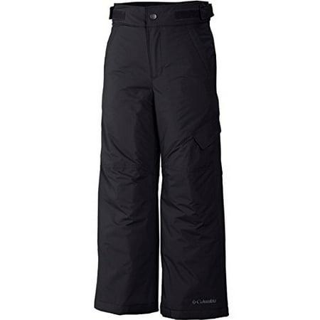 Columbia Little Boys' Ice Slope II Pant, Black, X-Small (Columbia Pants Boys)