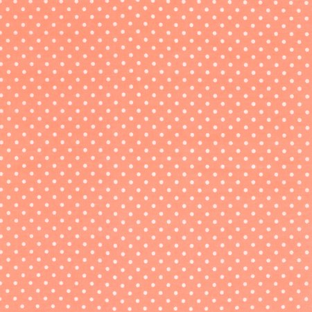 SHASON TEXTILE (3 Yards cut) 100% COTTON PRINT QUILTING FABRIC, TUTU / WHITE SMALL DOTS.