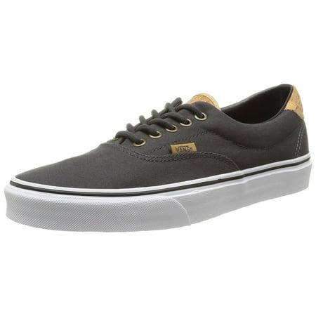 d89dec87b5e VANS - Vans Unisex Cork Twill Era 59 Skate Shoes-Cork Twill Dark Shadow -  Walmart.com