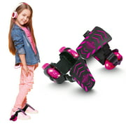MADD GEAR Madd Rollers - Light-Up Heel Skates - Suits Ages 6+ - Max Rider Weight 110lbs - 3 Year Manufacturers Warranty - Worlds #1 Pro Scooter Brand - Built to Last! Madd Gear Est. 2002