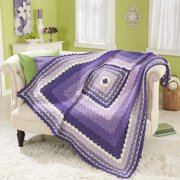 Herrschners Feathered Shells Crochet Afghan Kit