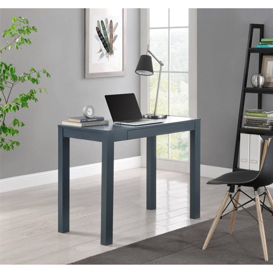 Ameriwood Home Parsons Desk With Drawer Multiple Colors