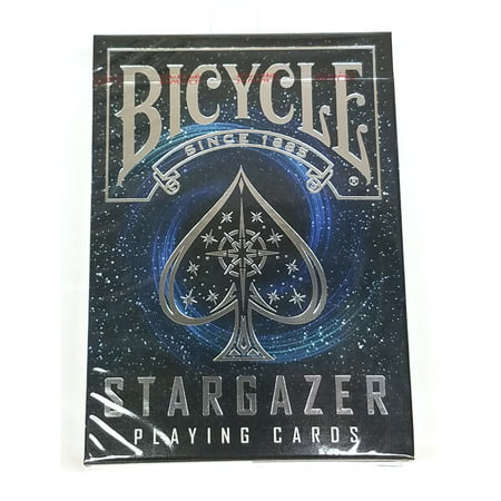 Bicycle Stargazer Black Hole Standard Poker Playing Cards