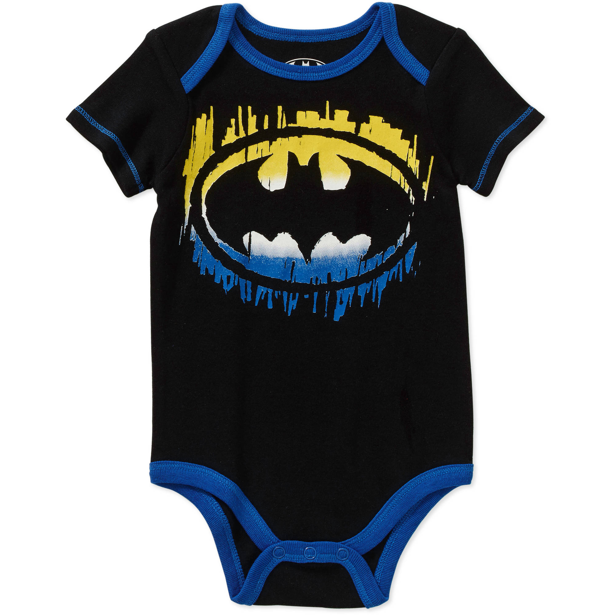 Batman Newborn Baby Boy License Body Suit