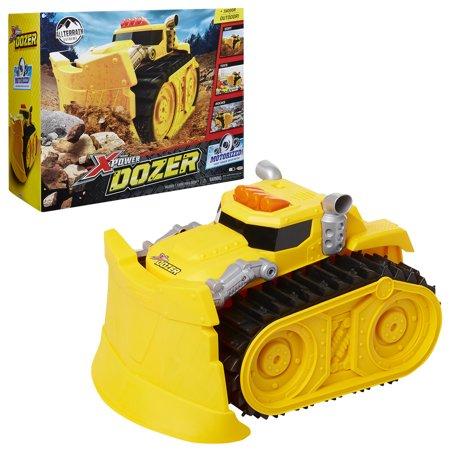 premium selection e1a8b 8b1d7 Xtreme Power Dozer - Motorized Extreme Power Dozer - Bulldozer Toy Truck  for Toddler Boys & Kids Who Love Construction Toys – Plow Thru Dirt, Toys,  ...