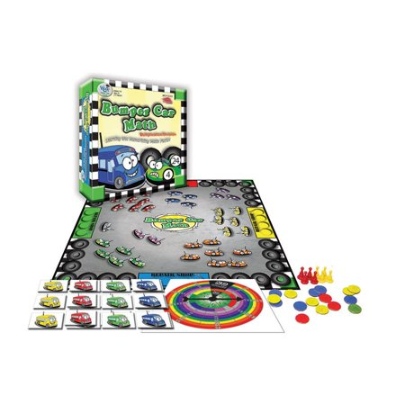 BUMPER CAR MATH GAME MULTIPLICATION - Halloween Math Multiplication Games