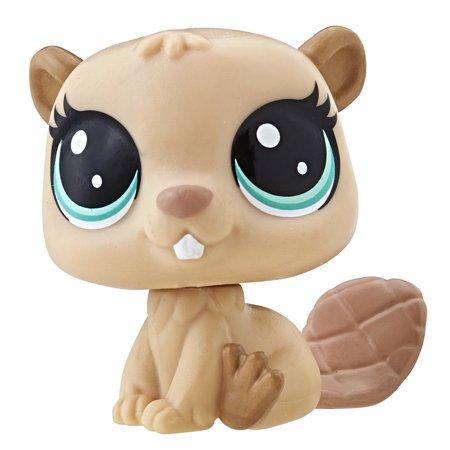 Single Pet (Beaver), Classic-scale pet By Littlest Pet Shop
