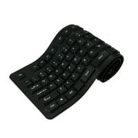 108 Keys USB Silicone Flexible Foldable Keyboard Waterproof Dustproof USB Silent Keys For Laptop Desktop Keyboard
