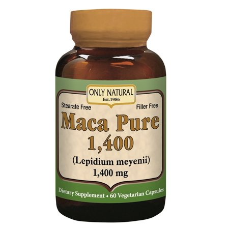 Only Natural Maca Pure 1400  60 Ct