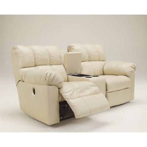 Ashley Furniture Kennard Leather Power Reclining Loveseat in Cream  sc 1 st  Walmart : ashley furniture power recliner - islam-shia.org