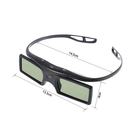 HC-TOP 3D Active Shutter Glasses for 3D Samsun TV HDTV Blue-ray Player - image 6 of 6
