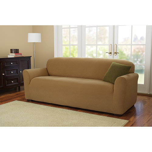 Better Homes and Gardens One-Piece Stretch Fine Corduroy Sofa Slipcover