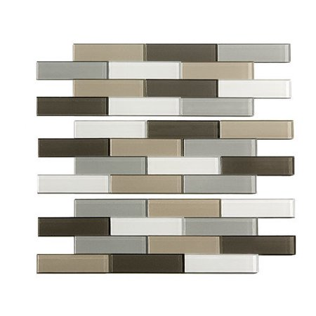 Image of ACP Aspect Glass Matted Subway Rustic Clay 15-square Foot Kit