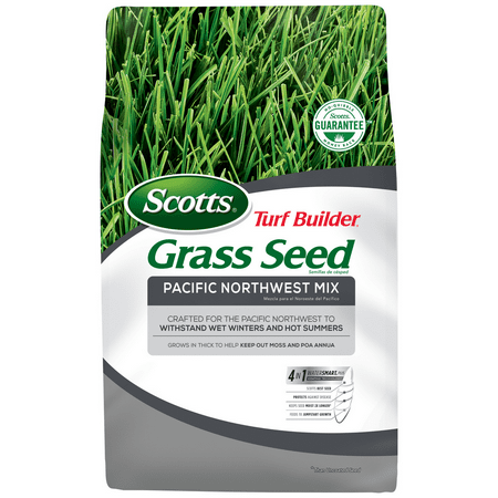 Scotts Turf Builder Grass Seed Pacific Northwest Mix, 20 lb., Grows in Thick