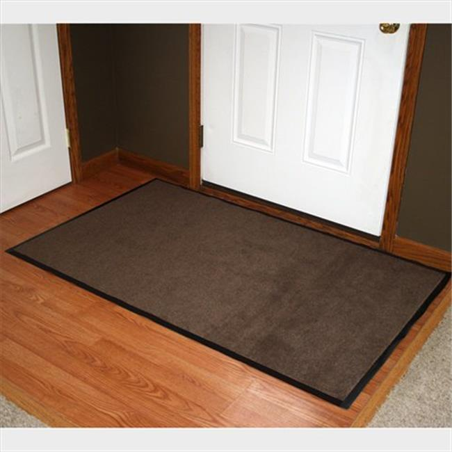 Durable Corporation 654S0035BN 3 ft. W x 5 ft. L Wipe-N-Walk Entrance Mat in Brown