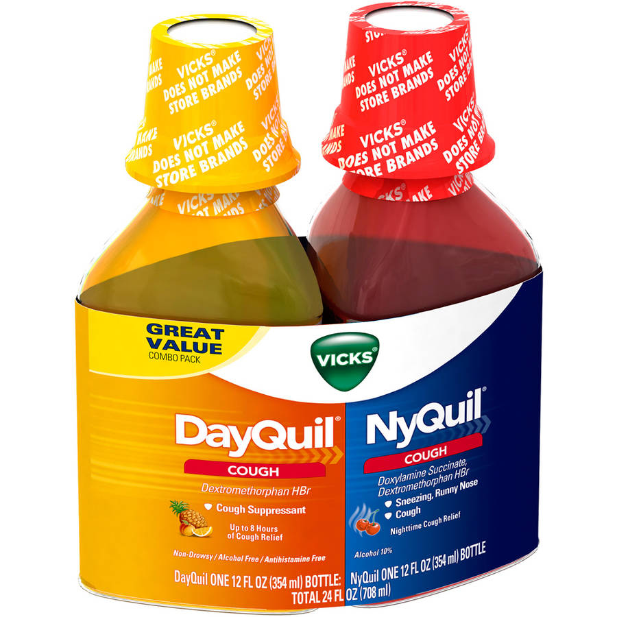 Dayquil/nyquil Cough Combo 12 Oz - Walmart.com