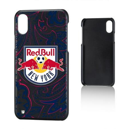 New York Red Bulls RED BULLS Paisley Slim Case for iPhone X