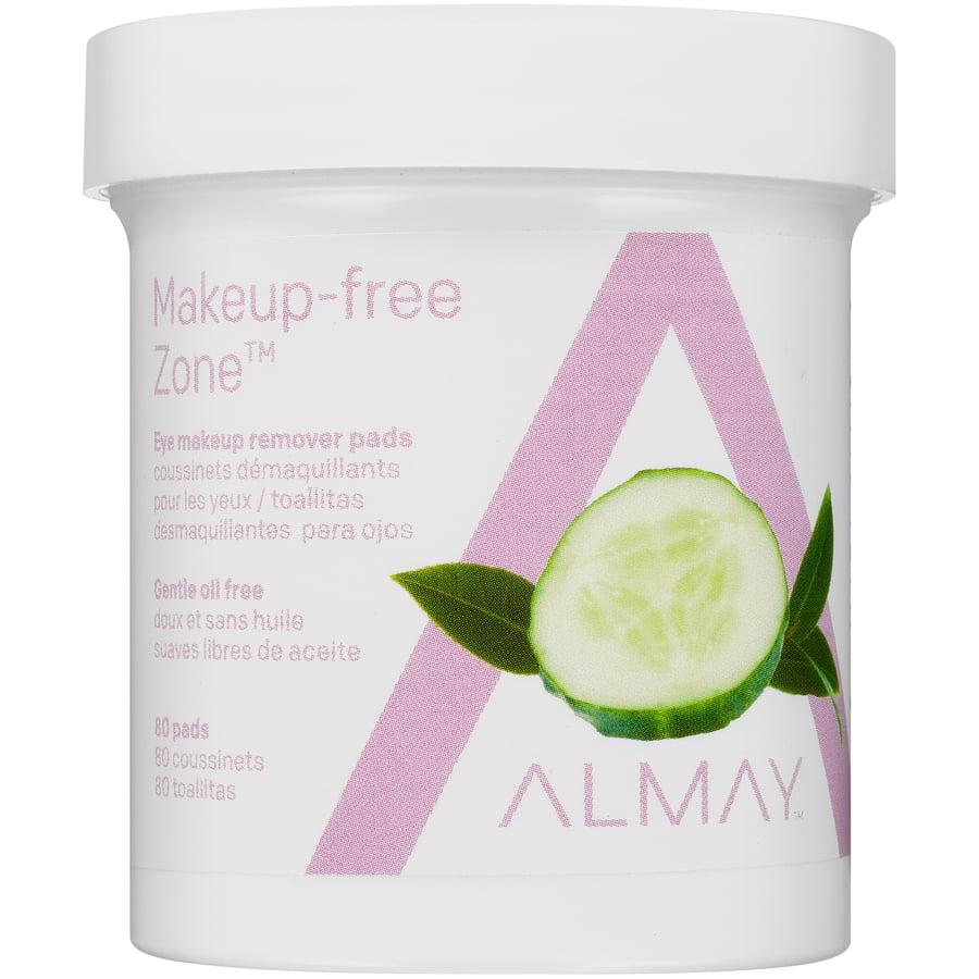 Almay® Oil Free Gentle Eye Makeup Remover Pads 80 ct Jar