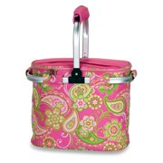 Picnic Plus Shelby Collapsible Market Tote - Pink Desire