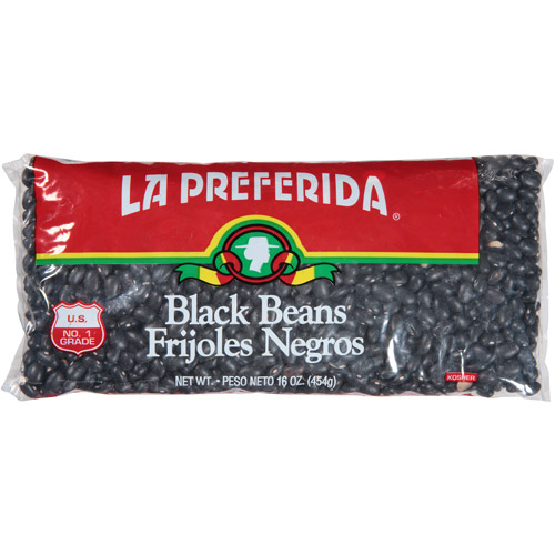 La Preferida Black Beans, 16 oz, (Pack of 24)
