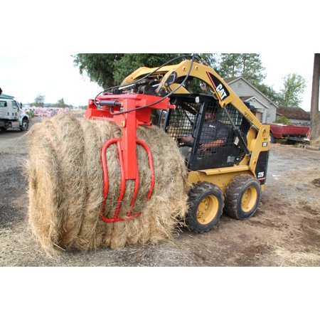 Bale Gripper Standard Skidsteer/Tractor Quick Attach