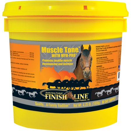 Finish Line-Muscle Tone With Myo-pro Equine Supplement 4.25 Pound