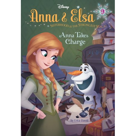 Anna & Elsa #9: Anna Takes Charge (Disney Frozen) (Hardcover)](Elsa Stickers)