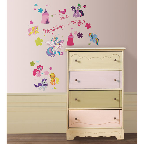 Wonderful My Little Pony Wall Stickers Part 9