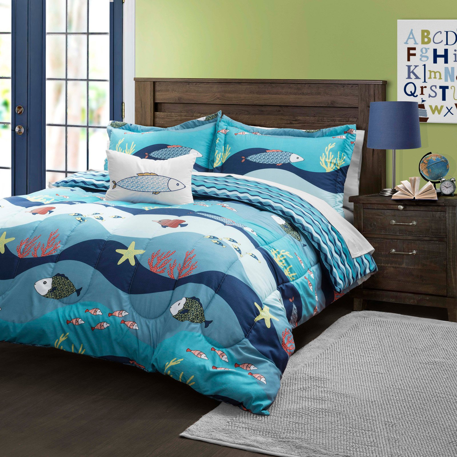 Seaworld Comforter Set by Lush Decor