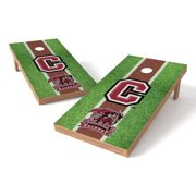 Wild Sports Collegiate Wyoming Shield 2x4 Field Grass Tailgate Toss XL Game