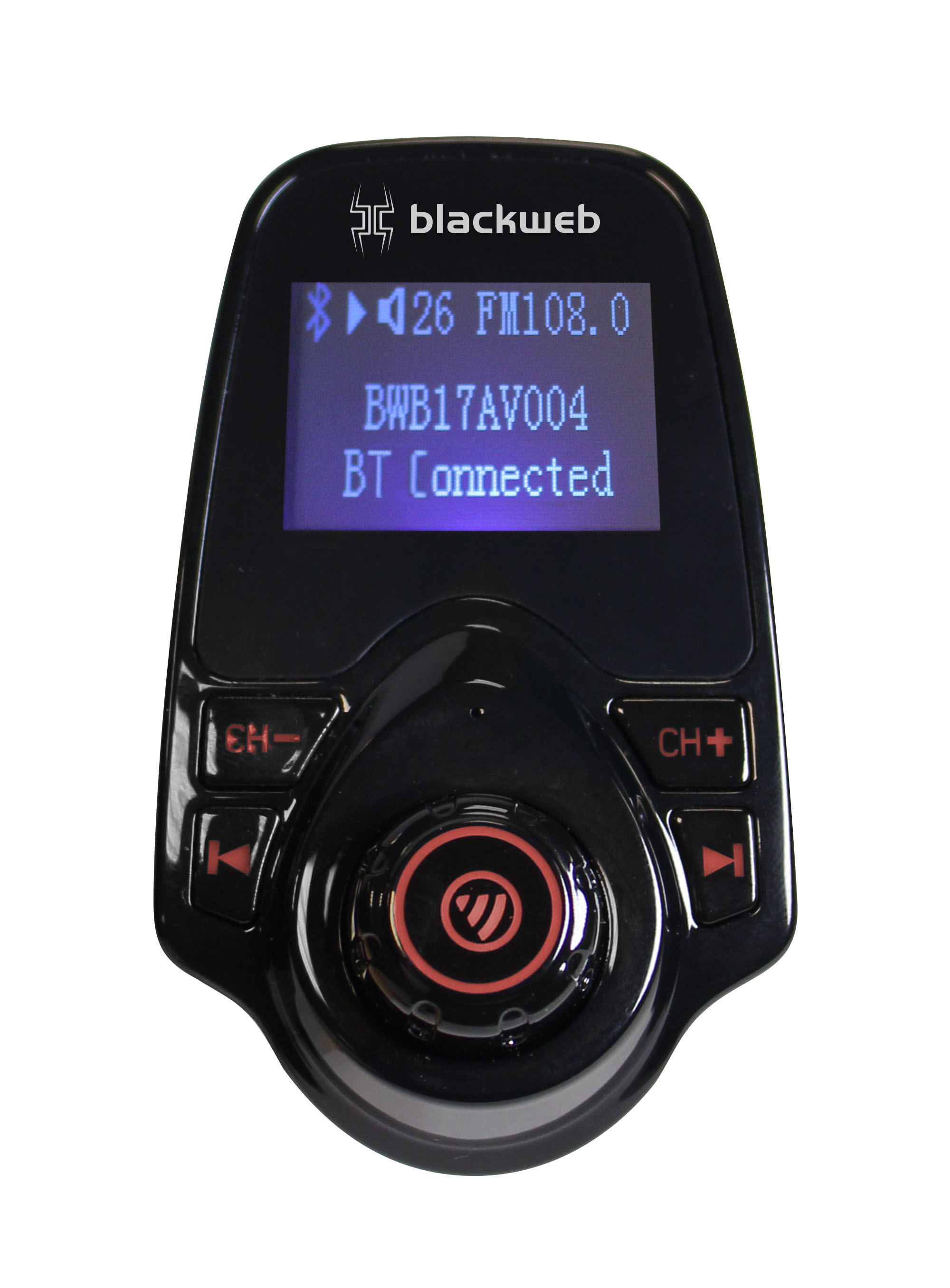 Blackweb Fm Transmitter With Bluetooth Wireless Technology