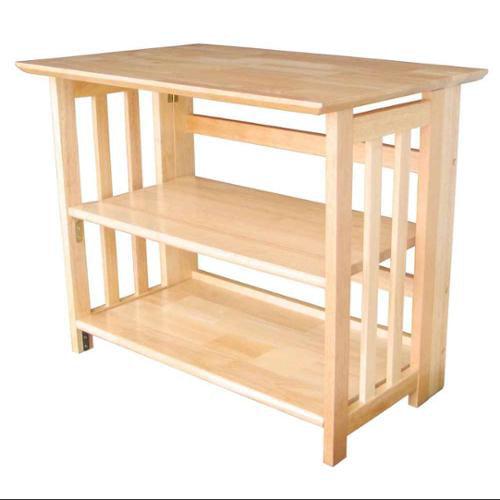 Wildon Home  Bookcase TV Stand