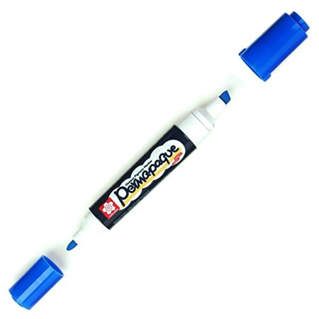 Sakura (48082) Permapaque Paint Marker Dual Point Blue, Sold Individually