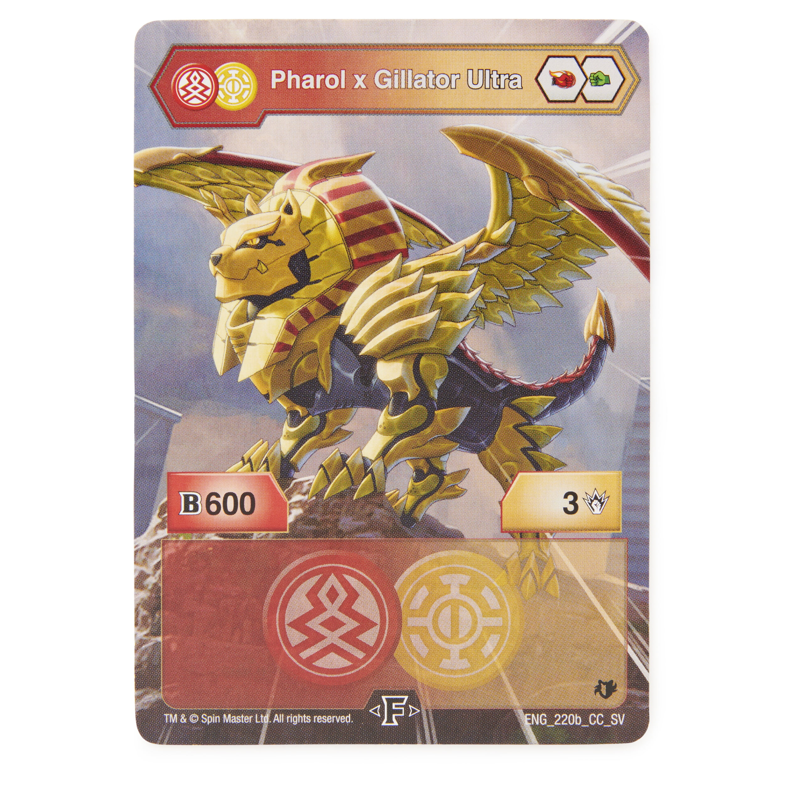 BAKU-GEAR BAKUGAN ARMORED ALLIANCE PHAROL x GILLATOR ULTRA FACTION FUSION UK!