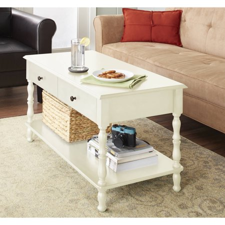 Better Homes & Gardens Adriana Coffee Table, - Ivory Table