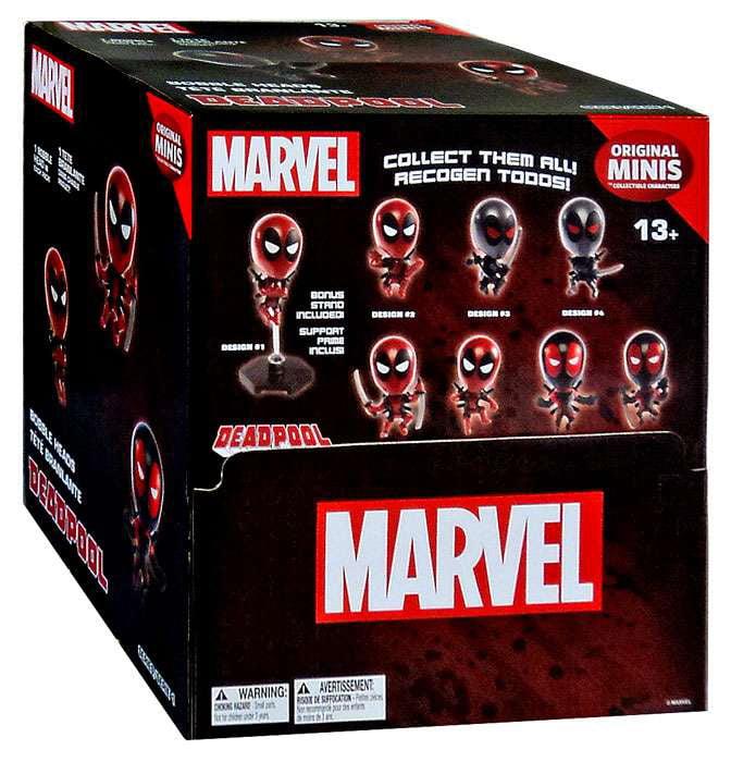 Blip Toys Marvel Original Minis Series 1 Deadpool Bobble ...