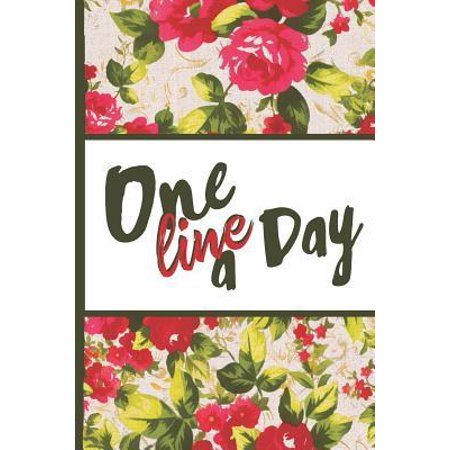 Best Mom Ever : One Line a Day Vintage English Red Rose Pretty Waterpaint Blossom Perpetual Calendar Monthly Weekly Planner Organizer 6x9 Inspirational Gifts for (Best Calendar Printing Service)